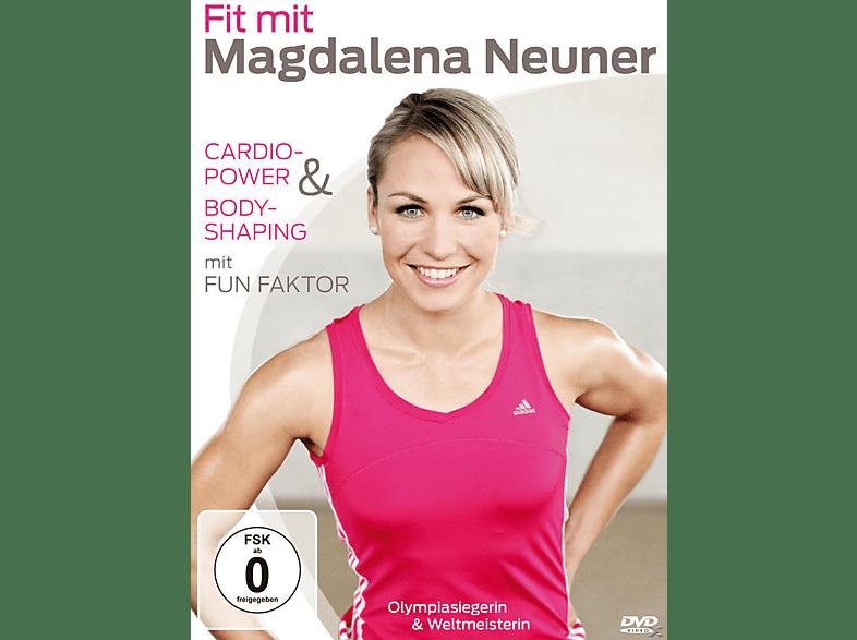 Fit mit Madgalena Neuner - Cardio-Power + Bodyshaping mit Fun Faktor [DVD]
