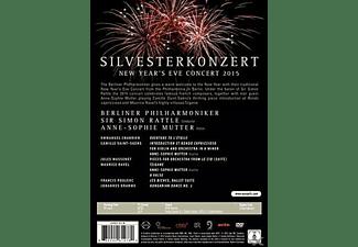 Anne-Sophie Mutter, Berliner Philharmoniker - Silvesterkonzert 2015  - (DVD)