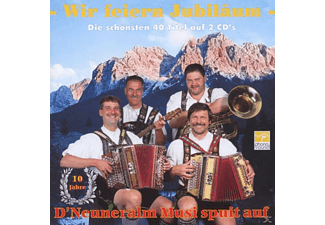Neuneralm Musi 10 Jahre - Wir Feiern Jubiläum  - (CD)