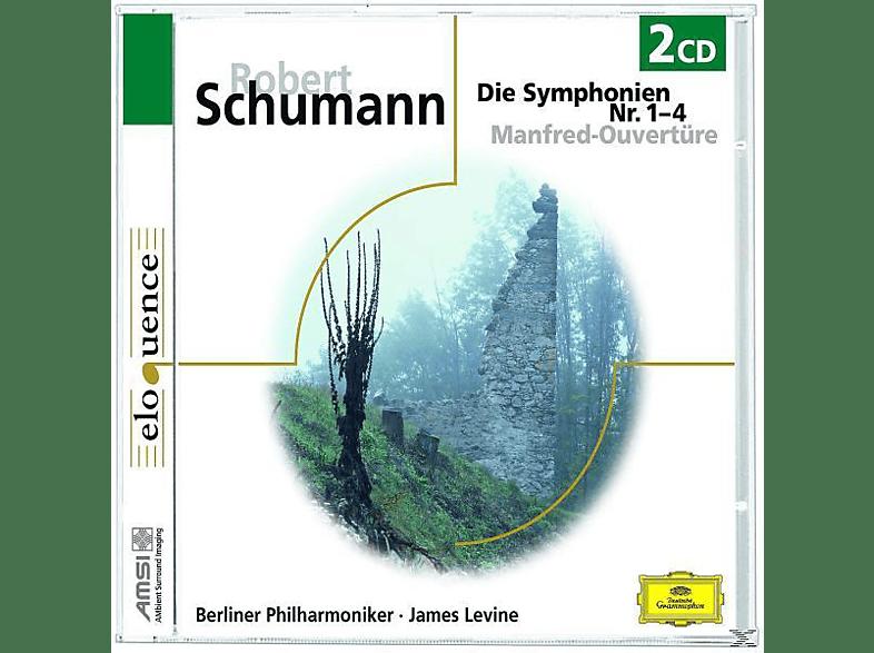 James Levine, James/bp Levine - SÄMTLICHE SINFONIEN NR.1-4 (GA) [CD]
