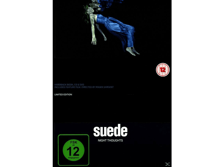 Suede - Night Thoughts (Special Edition Hardbook) [CD + DVD Video]