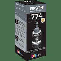 EPSON Original Tintenpatrone Tintenflasche Schwarz (C13T774140)
