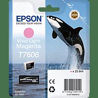 EPSON Original Tintenpatrone Schwertwal Vivid Light Magenta (C13T76064010)