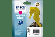 EPSON Original Tintenpatrone Seepferd Magenta (C13T04834010)