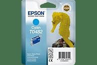 EPSON Original Tintenpatrone Seepferd Cyan (C13T04824010)