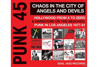 VARIOUS - Punk 45:Chaos In The City Of Angels And Devils  - (CD)