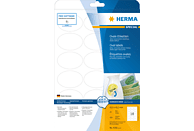 HERMA 4358 Ablösbare Etiketten  oval 63.5x42.3 mm A4 450 St.