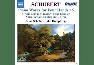 Allan Schiller, John Humphreys - Klaviermusik Zu 4 Händen Vol.5  - (CD)