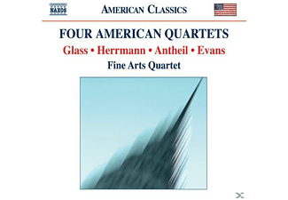 Herrmann, The Fine Arts Quartet - Vier Amerikanische Quartette  - (CD)