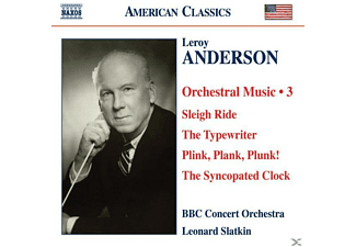 Bbc Concert Orch, Slatkin/BBC Concert Orchestra - Orchesterwerke Vol.3  - (CD)