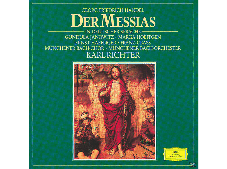 Münchener Bach-chor, Janowitz/Höffgen/Richter/MBO/+ - Der Messias (Ga, Deutsch) [CD]