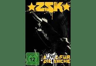Zsk - Live Für Die Sache  - (DVD)