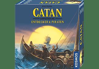 KOSMOS Catan - Entddecker & Piraten 3-4 Spieler Familienspiel