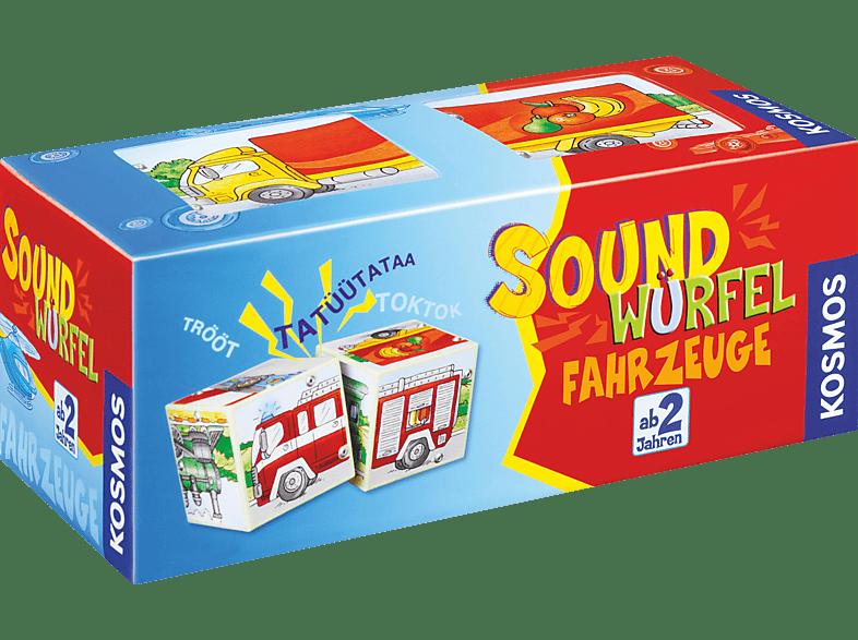 KOSMOS Soundwürfel Fahrzeuge Kinderspiel