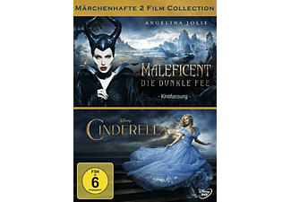 Maleficent - Die dunkle Fee, Cinderella [DVD]