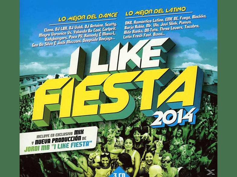 VARIOUS - I Like Fiesta 2014 [CD]