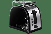 RUSSELL HOBBS 21971-56 Legacy Floral  Toaster Edelstahl/Schwarz/Weiß (1300 Watt, Schlitze: 2)