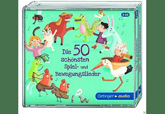 VARIOUS - Die 50 Schönsten Spiel -Und Bewegungslieder  - (CD)