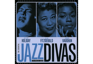 Billie Holiday, Ella Fitzgerald, Sarah Vaughan - Jazz Divas (Lim.Metalbox Edition)  - (CD)