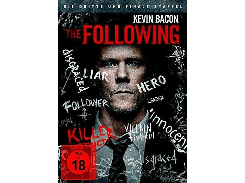 The Following - Staffel 3 [DVD]