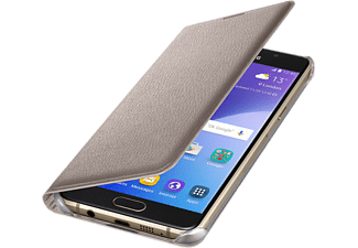 SAMSUNG Outlet Galaxy A310 flip cover tok arany (EF-WA310PFEG)