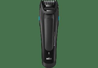 Barbero - Braun BT5050, 25 longitudes, Autonomía 40 minutos, Negro