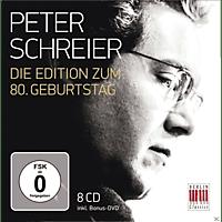 Peter Schreier - 80th Anniversary Edition - [CD + DVD Video]