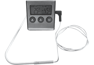 TEPRO 8565 Grill-Bratthermometer, Silber