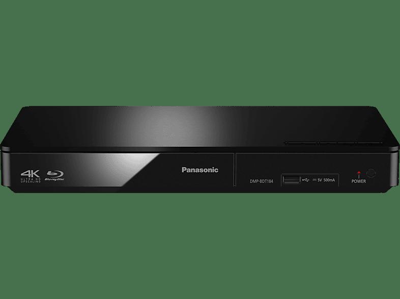 PANASONIC DMP-BDT184 Blu-ray Player (Schwarz)