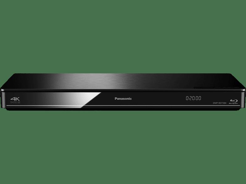 PANASONIC DMP-BDT384 Blu-ray Player (Schwarz)