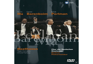 Yo-Yo Ma, Itzhak Perlman, Chor Der Deutschen Staatsoper, Berliner Philharmoniker - Triple Concerto / Choral Fantasy  - (DVD)