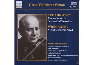 Mischa Elman, London Symphony Orchestra, Victor Symphony Orchestra, Robin Hood (dell Orchestra Of Philadelphia) - Violinkonzerte  - (CD)