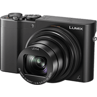 PANASONIC Lumix DMC-TZ101 LEICA Digitalkamera Schwarz, 10x opt. Zoom, LCD-Display