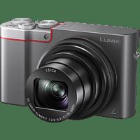 PANASONIC Lumix DMC-TZ101 LEICA Digitalkamera Anthrazit/Silber, 10x opt. Zoom, LCD-Display
