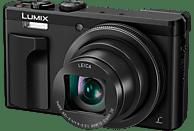 PANASONIC Lumix DMC-TZ81 LEICA Digitalkamera Schwarz, 18.1 Megapixel, 30x opt. Zoom, LCD-Display, WLAN