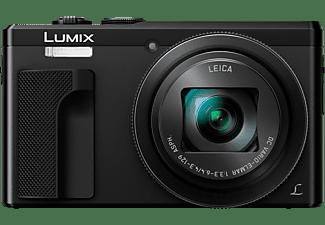 PANASONIC Lumix DMC-TZ81 LEICA Digitalkamera Schwarz, 30x opt. Zoom, LCD-Display, WLAN