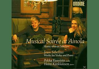 Pekka Kuusisto, Heini Kärkkäinen - Works For Violin And Piano  - (CD)