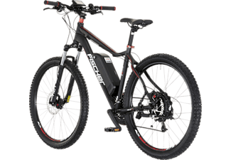 FISCHER Proline EM 1614  Mountainbike (27,5 Zoll, 48 cm, MTB Hardtail, 504 Wh, Schwarz)