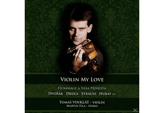 Vinklat,Tomas/Fila,Martin - Violin my love - (CD)