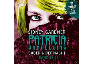 Jägerin Der Nacht.Band 13-18.Mp3 Version - 1 MP3-CD - Science Fiction/Fantasy