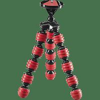 CULLMANN ALPHA 350 Dreibein Mini-Stativ, Rot, Höhe offen bis 230 mm