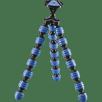 CULLMANN ALPHA 380 Dreibein Mini-Stativ, Blau, Höhe offen bis 305 mm