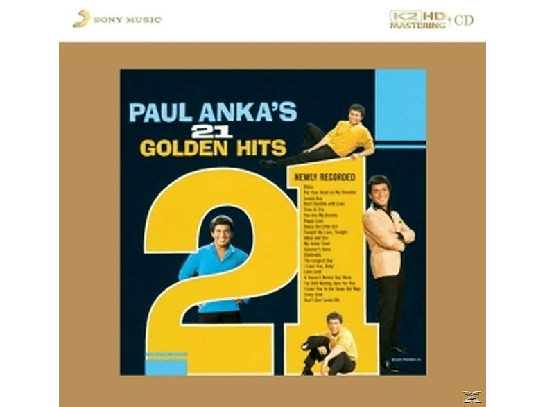 Paul Anka - Paul Anka's 21 Golden Hits-K2hd-Cd [CD]