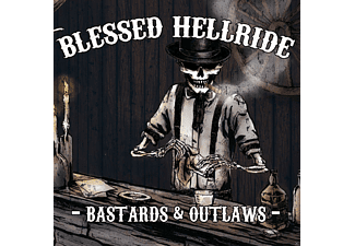 Blessed Hellride - Bastards & Outlaws - (CD)