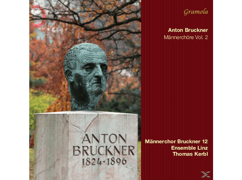 Männerchor Bruckner1 12/Kerbl, Thomas Männerchor Bruckner 12/kerbl - Männerchöre Vol.2 [CD]
