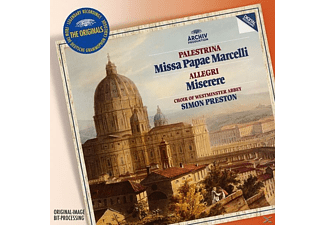 The Choir Of Westminster Abbey, Preston Simon - Missa Papae Marcelli/Tu Es Petrus/Miserere - (CD)