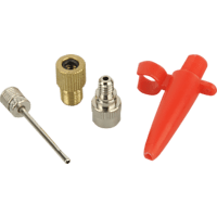 FISCHER 85618 Adapter-Set für Luftpumpen Adapter-Set für Luftpumpe