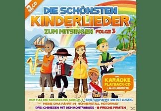 Kids Karaoke - Die Schönsten Kinderlieder Zum Mitsingen, 3  - (CD)