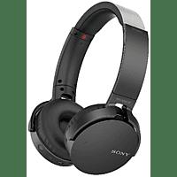 SONY MDR-XB650BT, On-ear Kopfhörer Bluetooth Schwarz