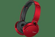 SONY MDR-XB650BT, On-ear Kopfhörer Bluetooth Rot
